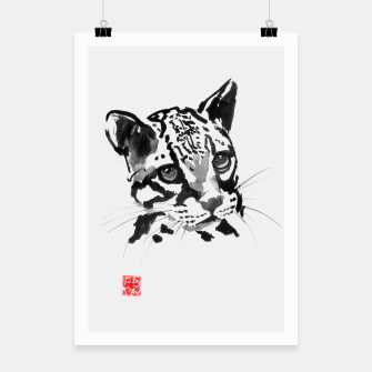 Thumbnail image of baby leopard Poster, Live Heroes