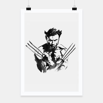 Thumbnail image of wolverine Poster, Live Heroes