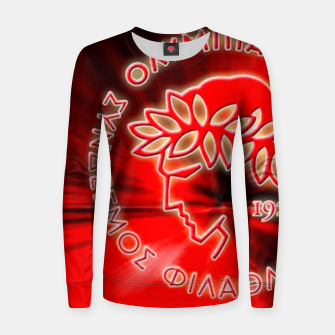 Thumbnail image of Olympiakos F.C Piraeus Women sweater, Live Heroes