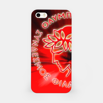Thumbnail image of Olympiakos F.C Piraeus iPhone Case, Live Heroes