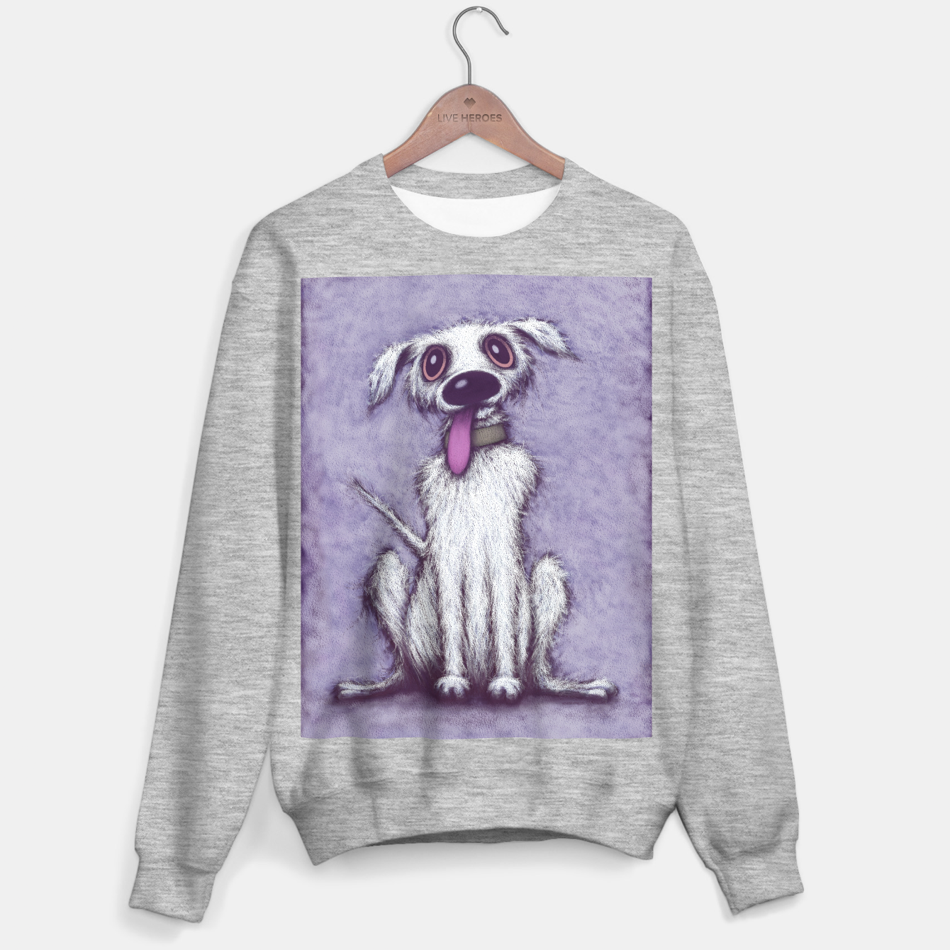 Image of Barney Sweater regular - Live Heroes