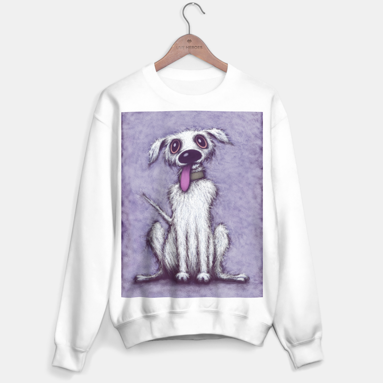Image de Barney Sweater regular - Live Heroes