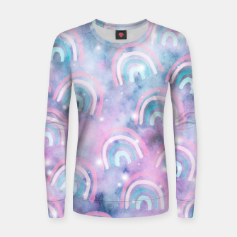 Imagen en miniatura de Cosmic Rainbow Dream Pattern #1 (Kids Collection) #decor #art  Frauen sweatshirt, Live Heroes