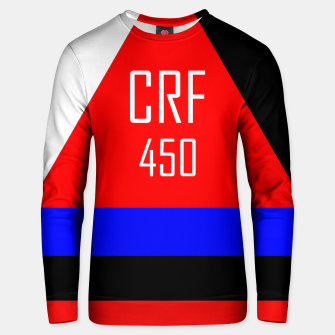 Miniatur CRF 450  Unisex sweater, Live Heroes