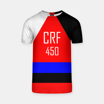 Thumbnail image of CRF 450  T-shirt, Live Heroes