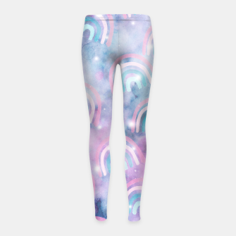 Imagen en miniatura de Cosmic Rainbow Dream Pattern #1 (Kids Collection) #decor #art  Kinder-Leggins, Live Heroes