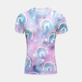 Imagen en miniatura de Cosmic Rainbow Dream Pattern #1 (Kids Collection) #decor #art  Shortsleeve rashguard, Live Heroes