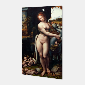 Thumbnail image of Leda and the Swan by Francesco Melzi Canvas, Live Heroes