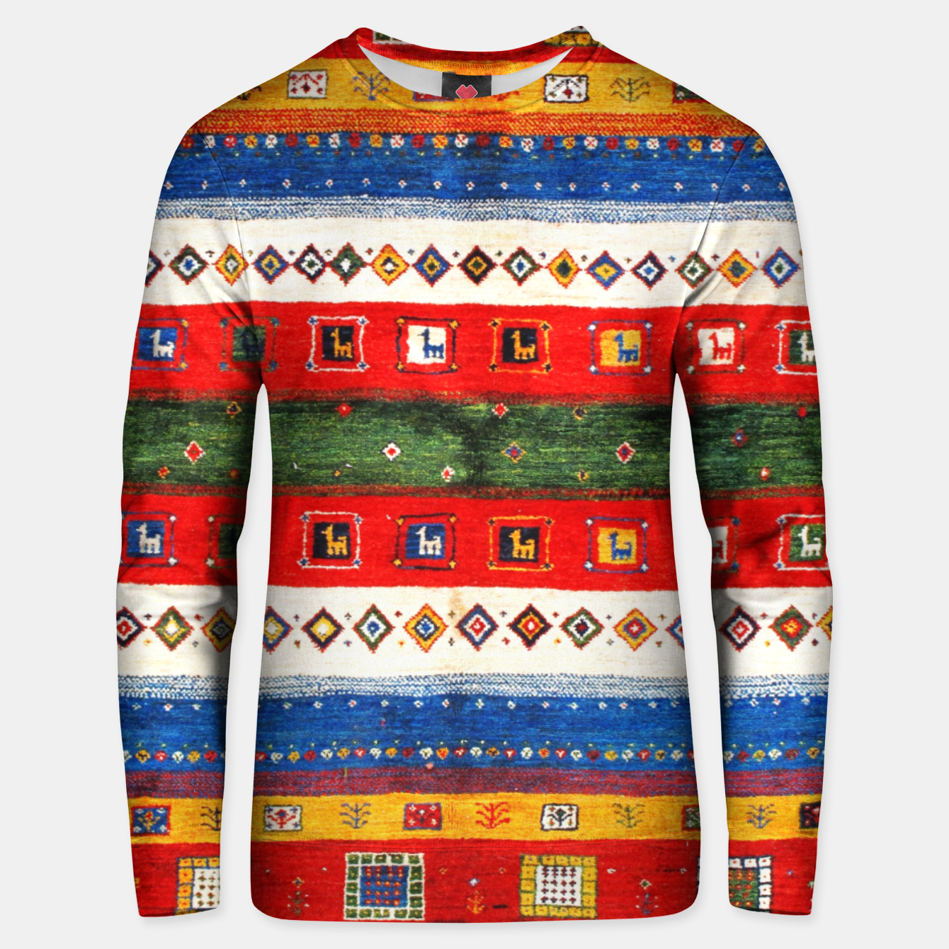 Image of Colored Bohemian Vintage Traditional Moroccan Artwork Unisex sweater - Live Heroes