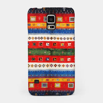 Imagen en miniatura de Colored Bohemian Vintage Traditional Moroccan Artwork Samsung Case, Live Heroes