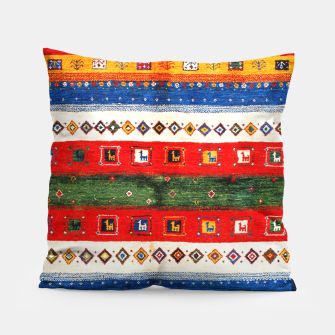 Thumbnail image of Colored Bohemian Vintage Traditional Moroccan Artwork Pillow, Live Heroes