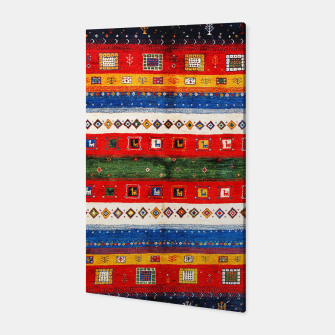 Thumbnail image of Colored Bohemian Vintage Traditional Moroccan Artwork Canvas, Live Heroes
