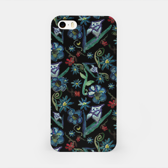 Imagen en miniatura de Watercolor Flowers On Black iPhone Case, Live Heroes