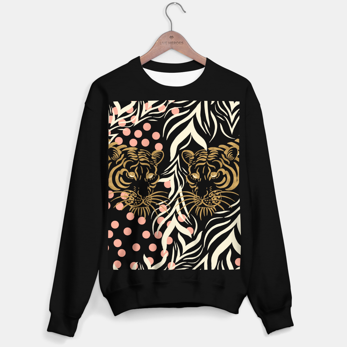 Foto Wild Animal Sudadera regular - Live Heroes