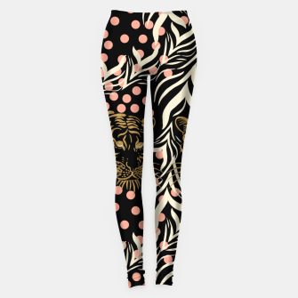 Wild Animal Leggings Bild der Miniatur