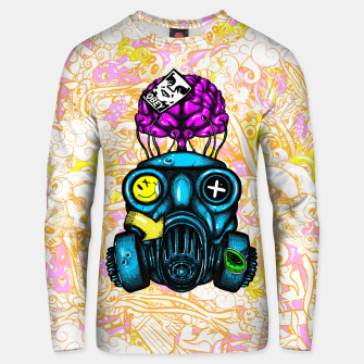 Thumbnail image of Gas Mask Unisex sweater, Live Heroes
