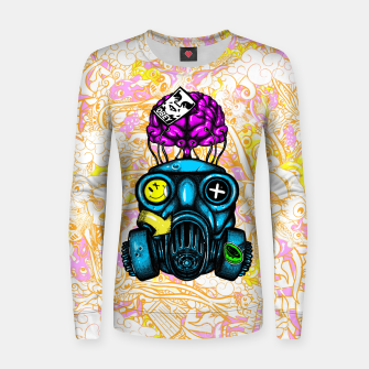 Gas Mask Women sweater thumbnail image