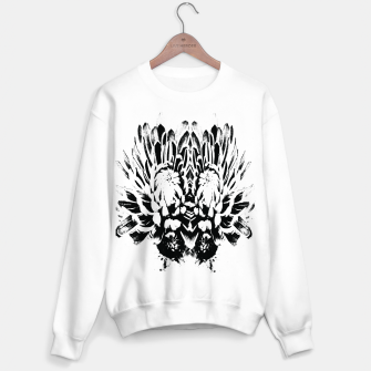 Thumbnail image of Black white flower Bluza standard, Live Heroes