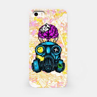Imagen en miniatura de Gas Mask iPhone Case, Live Heroes