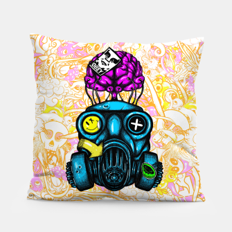 Gas Mask Pillow thumbnail image