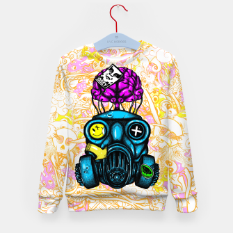 Gas Mask Kid's sweater thumbnail image