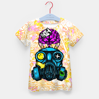Gas Mask Kid's t-shirt thumbnail image