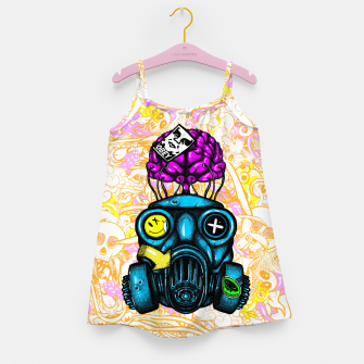 Gas Mask Girl's dress thumbnail image