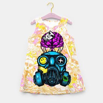 Gas Mask Girl's summer dress thumbnail image