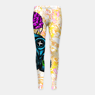 Imagen en miniatura de Gas Mask Girl's leggings, Live Heroes