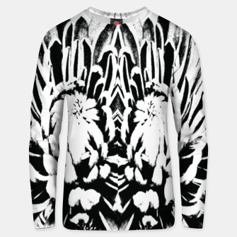 Thumbnail image of Black white flower Bluza unisex, Live Heroes