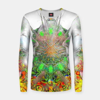Thumbnail image of Monk Frauen sweatshirt, Live Heroes