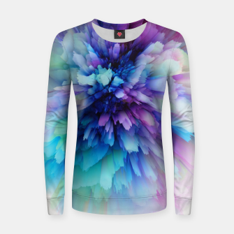 Miniatur Abstract Flowers Pull femme , Live Heroes