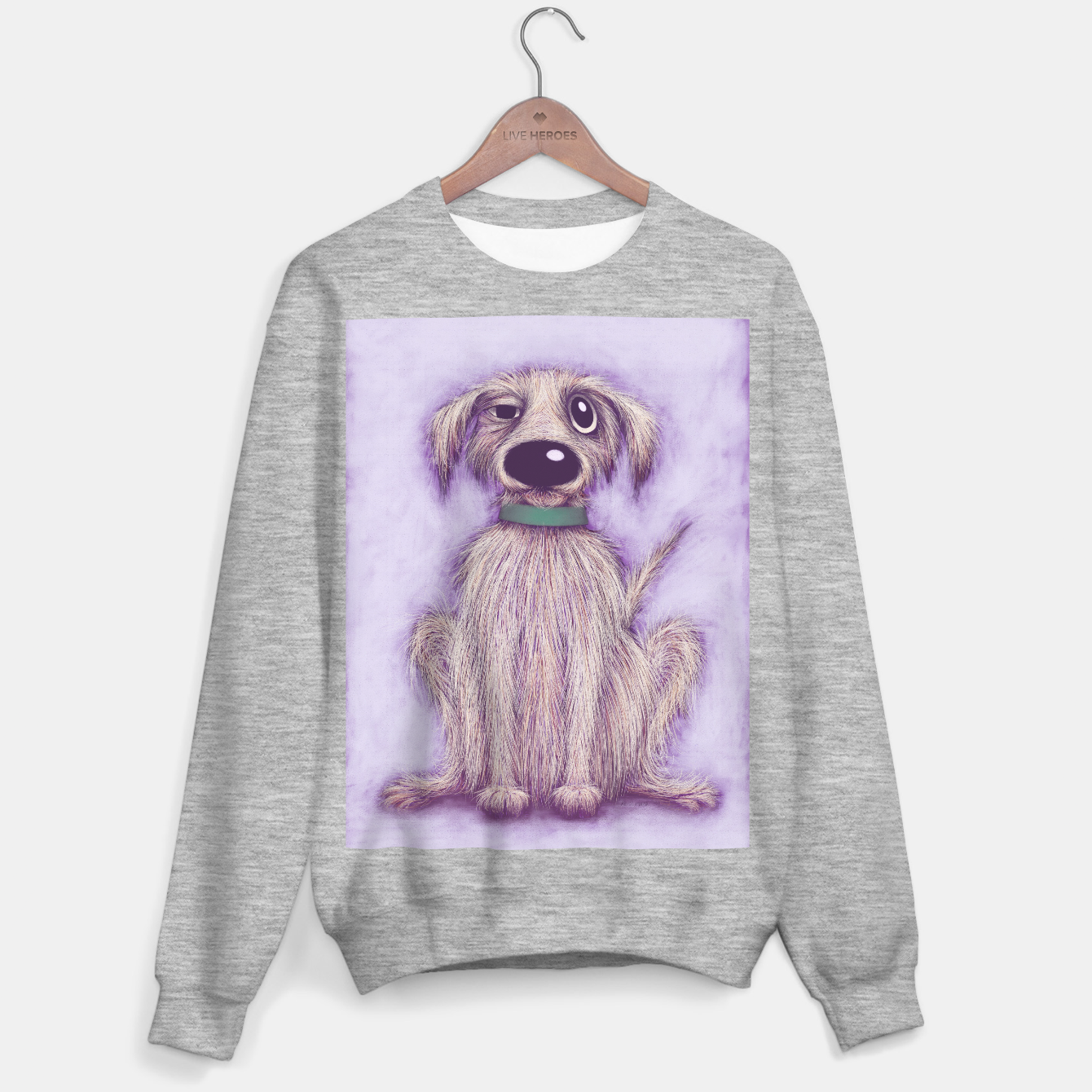 Image of Harold the dog Sweater regular - Live Heroes