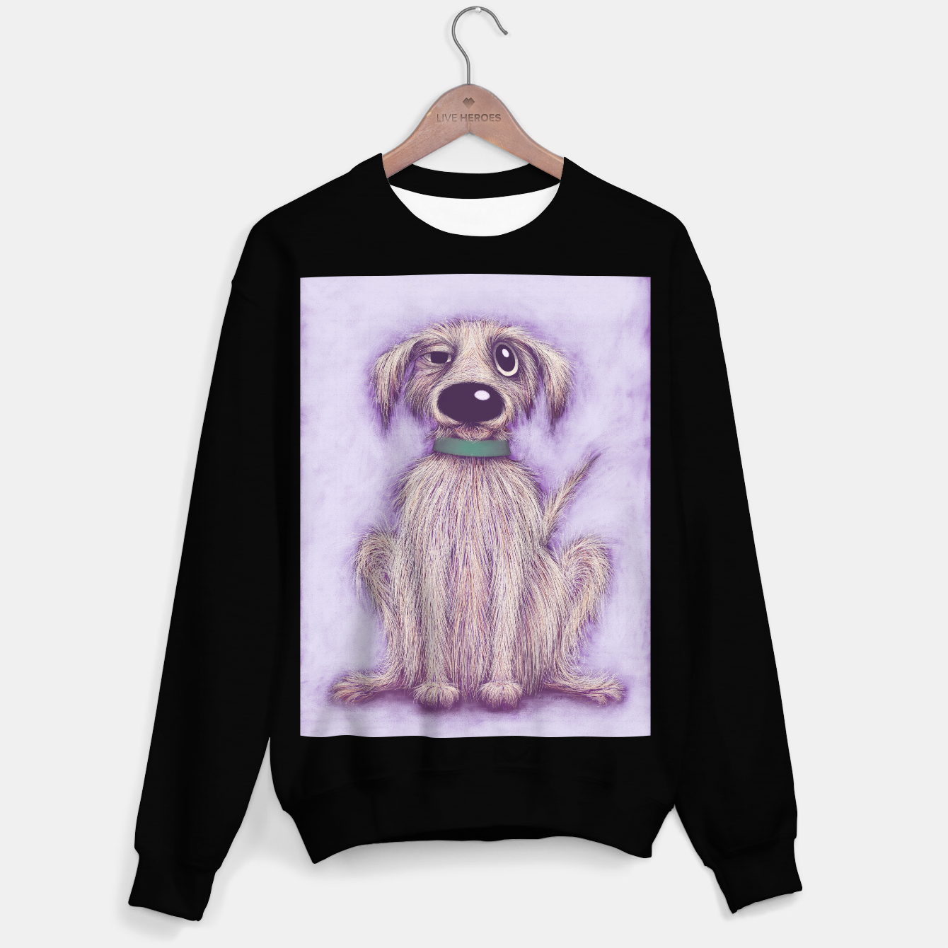 Image de Harold the dog Sweater regular - Live Heroes