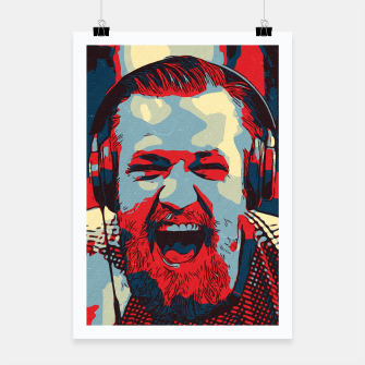 Thumbnail image of Conor Mcgregor Artwork Poster, Live Heroes