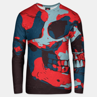 Thumbnail image of Skull Artwork Unisex sweater, Live Heroes