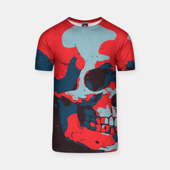 Thumbnail image of Skull Artwork T-shirt, Live Heroes