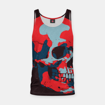 Thumbnail image of Skull Artwork Tank Top, Live Heroes