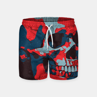 Thumbnail image of Skull Artwork Swim Shorts, Live Heroes