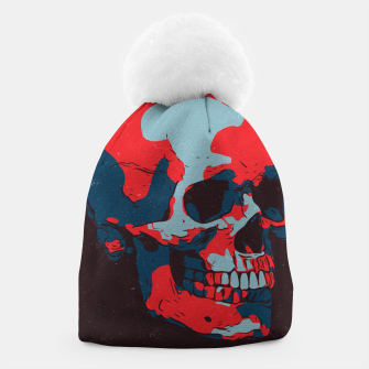Thumbnail image of Skull Artwork Beanie, Live Heroes