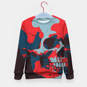 Thumbnail image of Skull Artwork Kid's sweater, Live Heroes