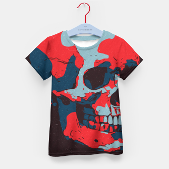 Thumbnail image of Skull Artwork Kid's t-shirt, Live Heroes