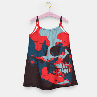 Thumbnail image of Skull Artwork Girl's dress, Live Heroes