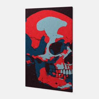 Thumbnail image of Skull Artwork Canvas, Live Heroes