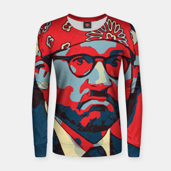 Thumbnail image of Michael Scott Artwork Women sweater, Live Heroes