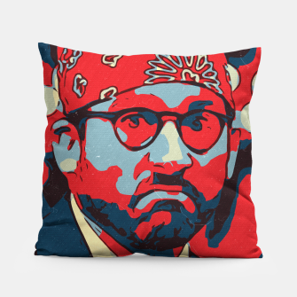 Thumbnail image of Michael Scott Artwork Pillow, Live Heroes