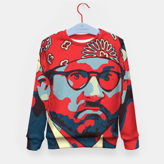 Thumbnail image of Michael Scott Artwork Kid's sweater, Live Heroes