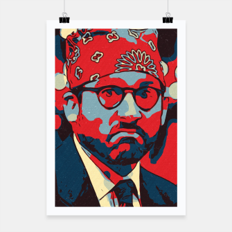 Thumbnail image of Michael Scott Artwork Poster, Live Heroes