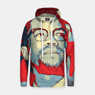 Thumbnail image of Malcolm X Artwork Hoodie, Live Heroes