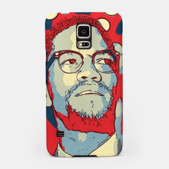 Thumbnail image of Malcolm X Artwork Samsung Case, Live Heroes